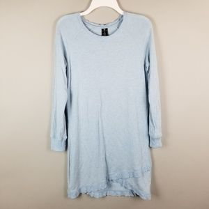 Active Life Baby Blue Soft Tunic Dress Comfy S/M S